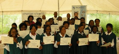 40 graduates of Olievenhoutbosch IT Training Center